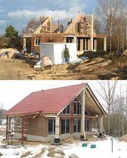 Строительство дома из блоков Durisol