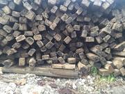 Деревянные шпалы оптом