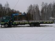 Грузоперевозки манипулятором в Ярославле 15 тонн