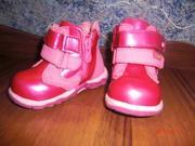 Ботинки на девочку весна-лето фирма Шалунишка
